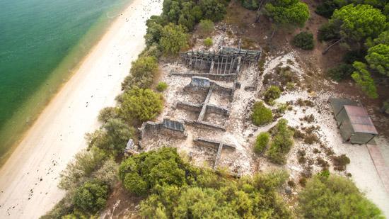 Ruinas Romanas de Troia