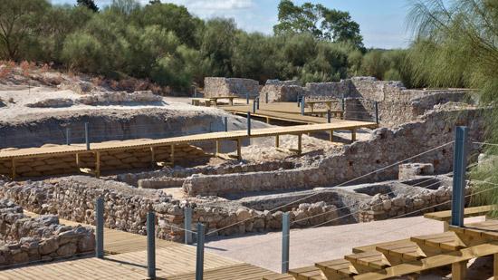 Ruinas de Troia Portugal