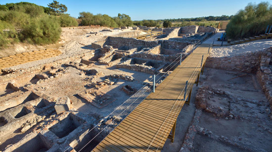 Ruinas Romanas de Troia Portugal
